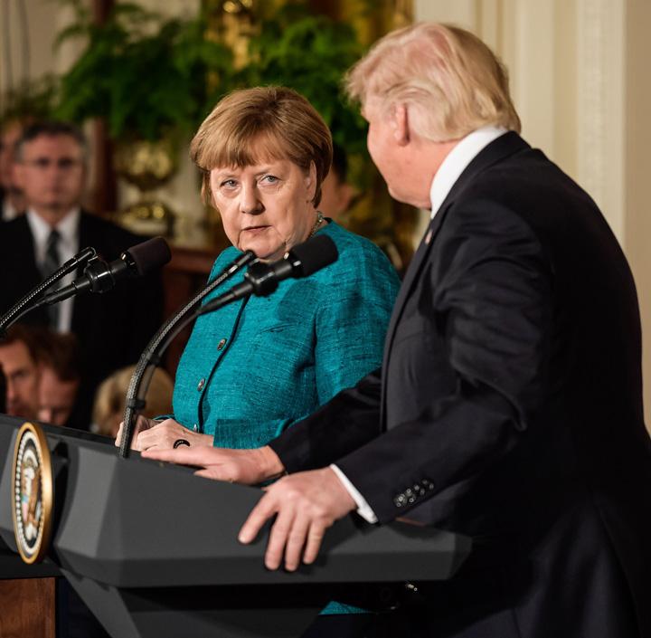 germania Germania sare la gatul lui Trump