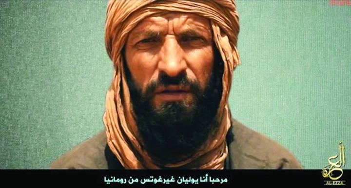 ghergut Noua inregistrare Al Qaida in care apare romanul Iulian Ghergut