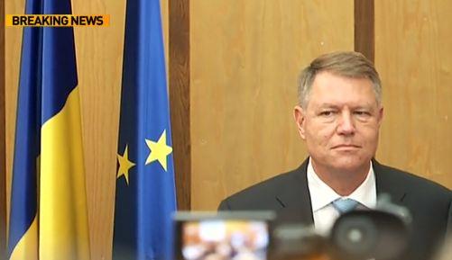 ioh 2 Reactia lui Iohannis, dupa ce s a intonat imnul secuiesc la dezbaterea la care a fost prezent (VIDEO)