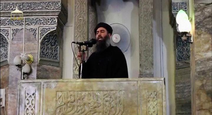 isis Putin i a tuns barba liderului ISIS