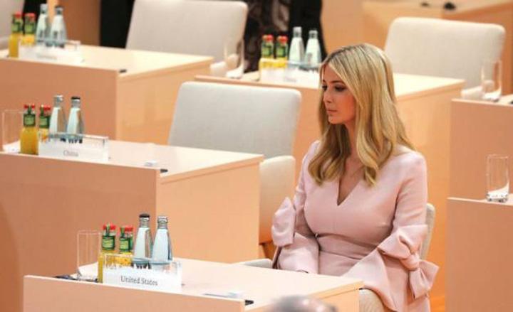 ivanka mare Sa radem cu G20