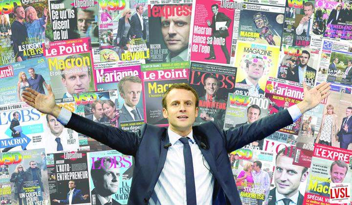 macron 1 Macron isi face trust media