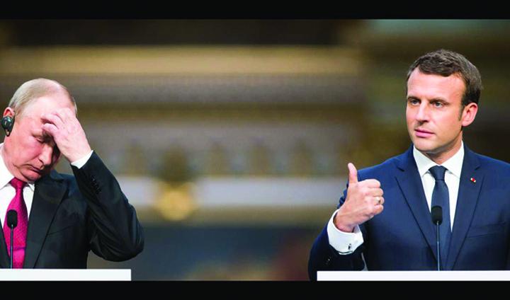 macron bun Macron, piratat de rusi pe Facebook