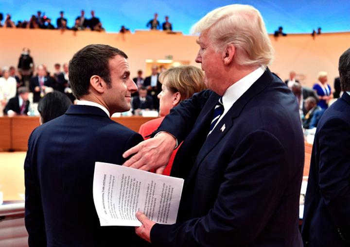 macron2 1 Sa radem cu G20