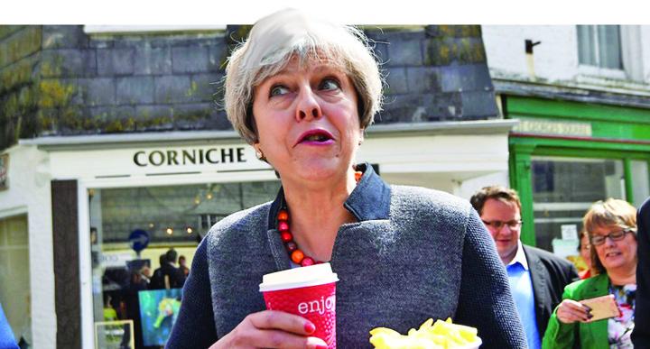 may medalion Theresa May, vrem porno pe submarin!