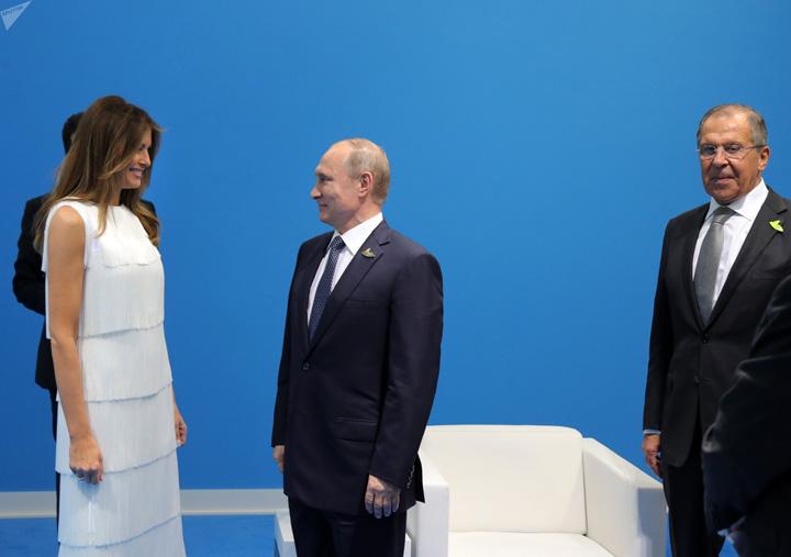 melania Sa radem cu G20