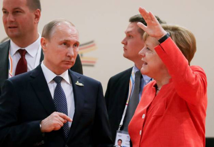 merkel1 Sa radem cu G20