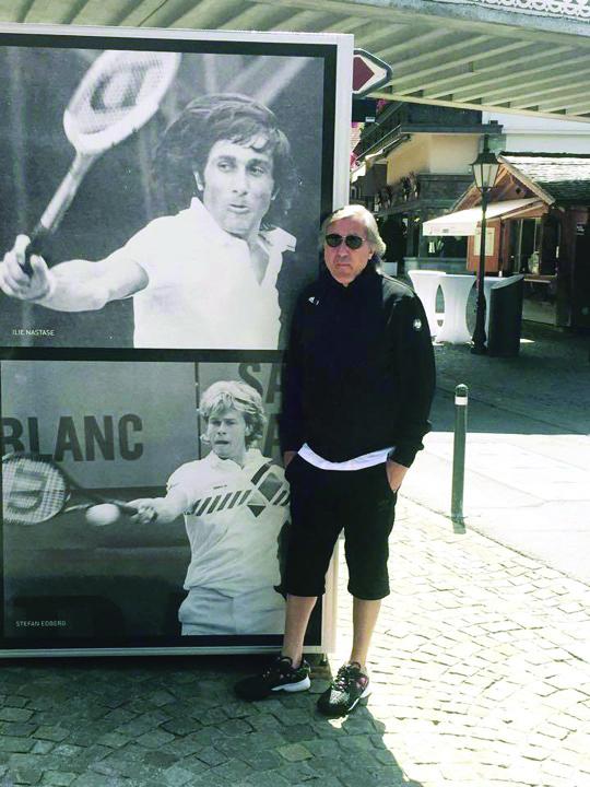 nastase Ilie Nastase, dat in urmarire la Wimbledon