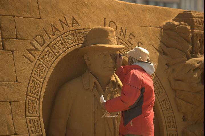 nisip 1 Personajele Disney au fost sculptate in  nisip!