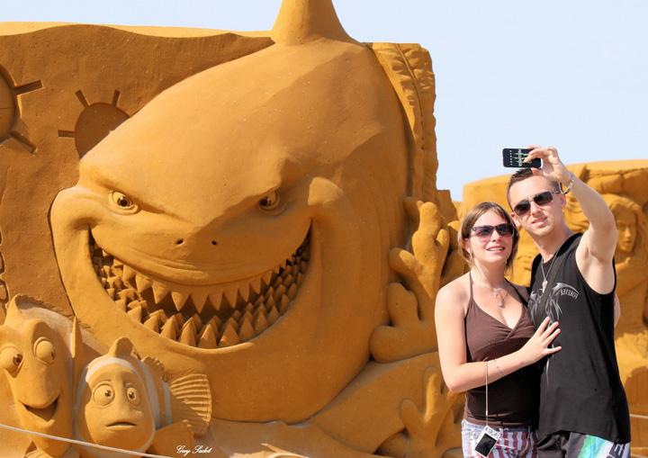nisip 3 Personajele Disney au fost sculptate in  nisip!