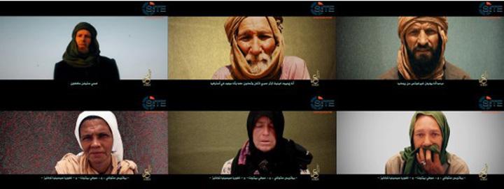 ostatici Noua inregistrare Al Qaida in care apare romanul Iulian Ghergut