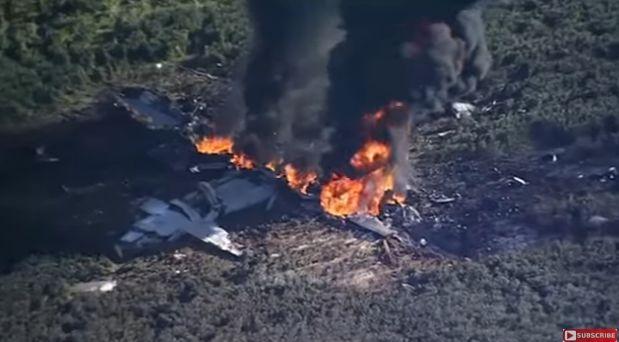 prab 1 16 morti in urma prabusirii unui avion militar (VIDEO)