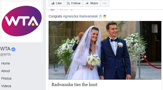 radw Agnieszka Radwanska s a maritat (VIDEO)