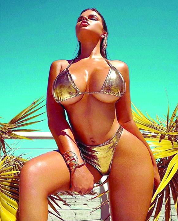 rusoaica Kim Kardashian, varianta ruseasca