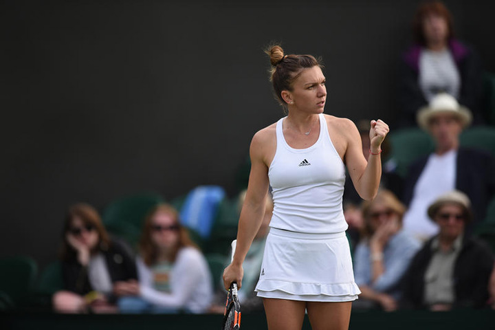 simona Atuurile Simonei Halep la Wimbledon