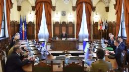 small sedinta csat   4 iulie 2017 1 Iohannis si Tudose, la sedinta CSAT de la Cotroceni