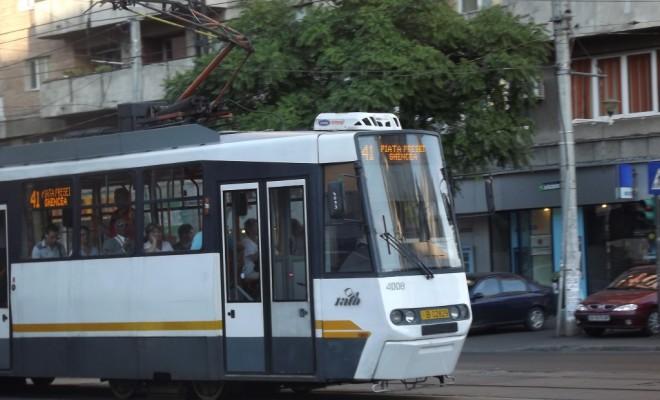 tramvai 41 Probleme pe linia tramvaiului 41, pe fondul vremii urate