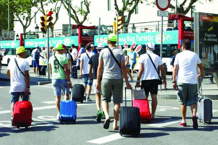 turisti 1 spania Englezii, ravagii in hotelurile spaniole