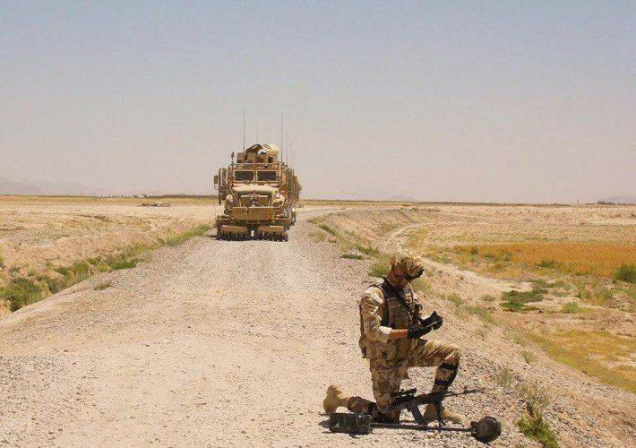 20604245 941548092651108 3476165869143112856 n militar 710x500 Militar roman, ranit usor in Afganistan/Detalii de la MApN