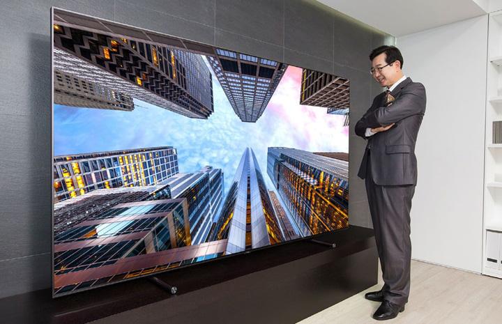 7ddf3aa2ee31506b54e79918289b0ecf Samsung a lansat televizorul de peste 2 metri!