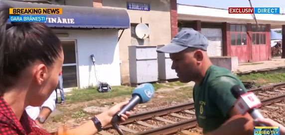 accid 2 Tragedie la Branesti. Primele declaratii ale fratelui femeii lovite de tren