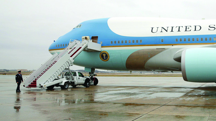 air force Noile Air Force One erau pentru rusi