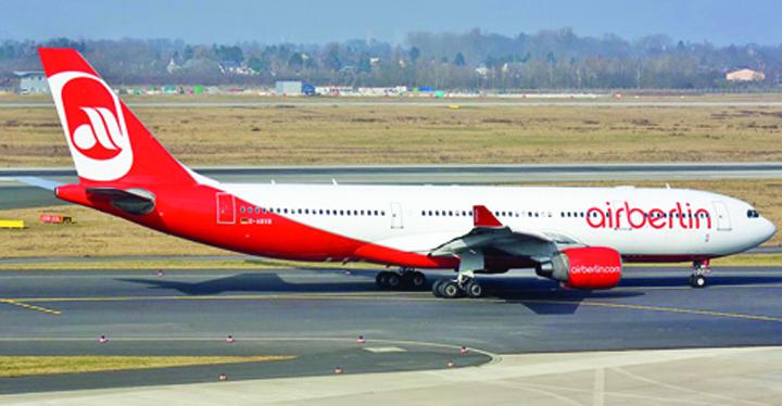 airberlin Air Berlin intra in insolventa