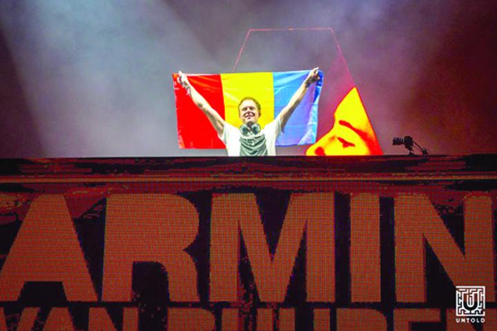 armin Armin van Buuren, show de zile mari la Untold