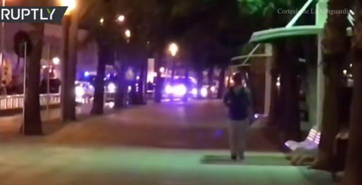 atac3 720x369 Cinci suspecti, ucisi intr un oras spaniol, dupa atacul din Barcelona