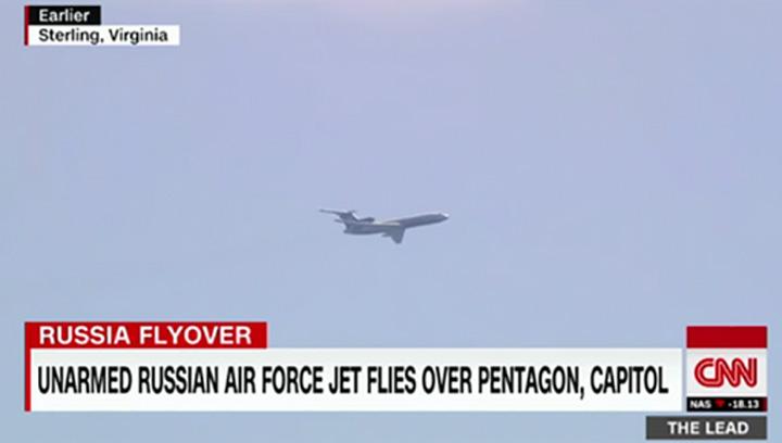 avion rusesc Avion rusesc, deasupra Casei Albe, CIA, Pentagon, Trump National Golf...
