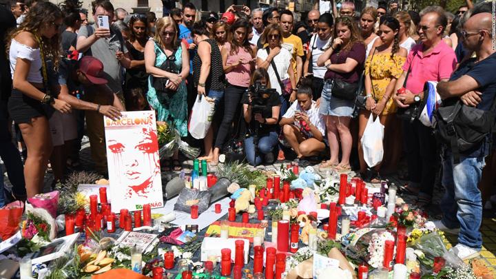 barcelona Barcelona sub teroare. Tinta  principala: Sagrada Familia
