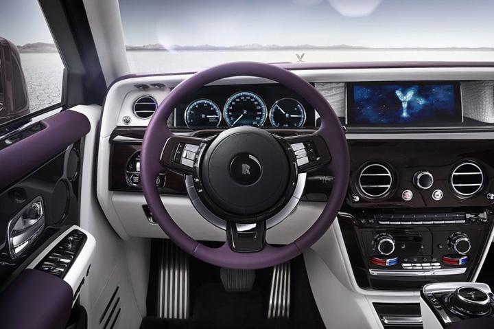 bord rolls Rolls Royce dezvaluie noul Phantom