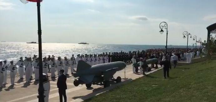 cerem Ziua Marinei. Imagini de la ceremoniile de la malul marii (VIDEO)