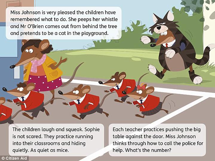 copii terorism Cum sunt antrenati copiii impotriva terorismului