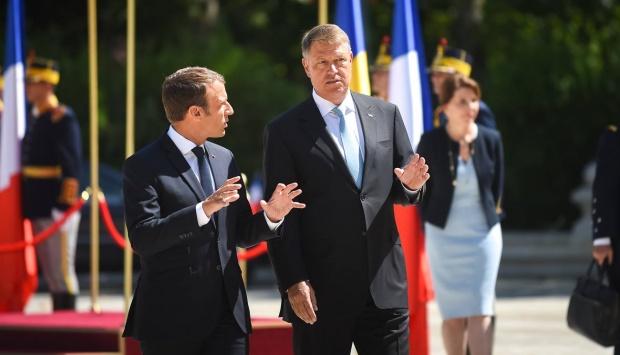 deutsche welle critici pentru iohannis dupa vizita lui macron la bucuresti ce i se reproseaza 474498 Macron, pus la zid: Lovitura de stat sociala