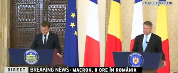 discutii 1 Iohannis, dupa discutiile cu Macron: Obiectivul de aderare la Spatiul Schengen ramane de actualitate