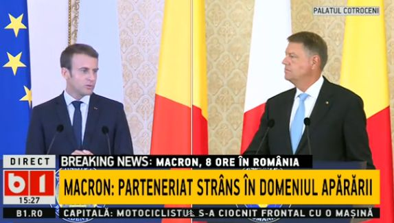 discutii 2 Macron, dupa discutiile de la Cotroceni: Europa Spatiului Schengen nu functioneaza bine
