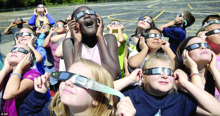 eclipsa America, blocata de eclipsomanie
