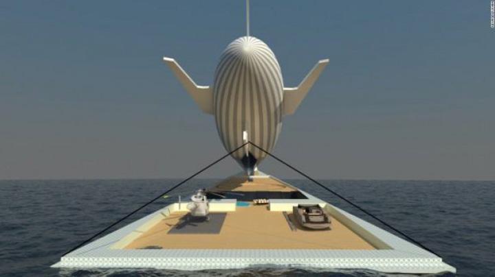 george lucian 12 600x338 22189800 Un roman a proiectat iahtul zburator!