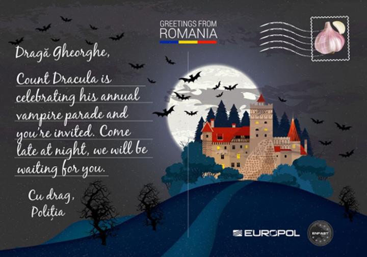 gheorghe Europol trimite vederi infractorilor