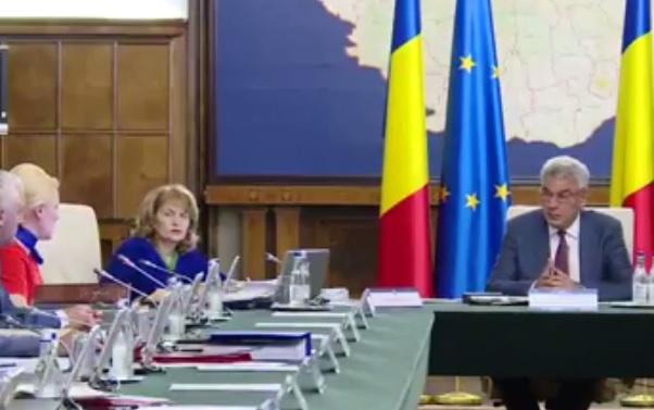 guvern Tudose: Azi reparam o nedreptate in privinta salariilor cadrelor din Ministerul de Interne