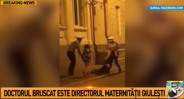 incid Incident in plina strada cu un medic cunoscut. Sefa MAI cere control la Politia Capitalei (VIDEO)
