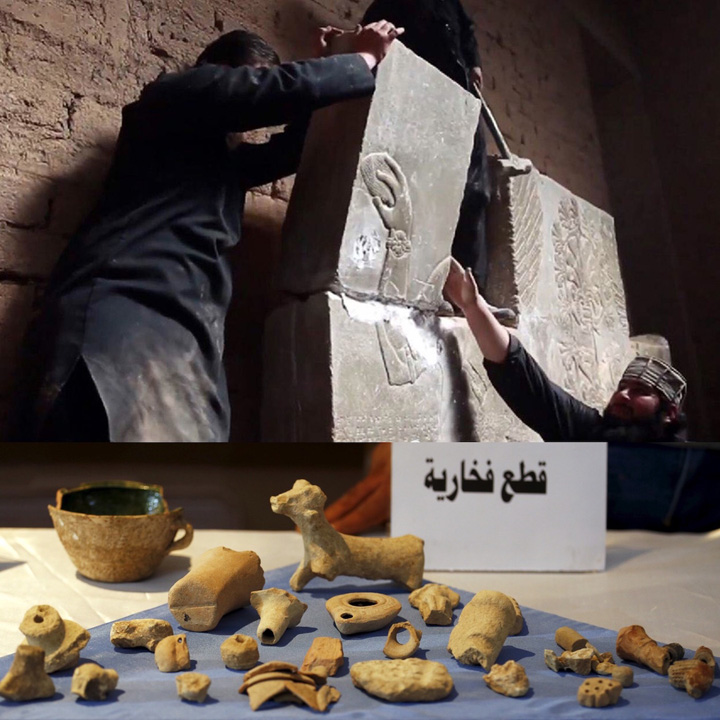 isis 2 Cum vinde ISIS antichitati prin Romania