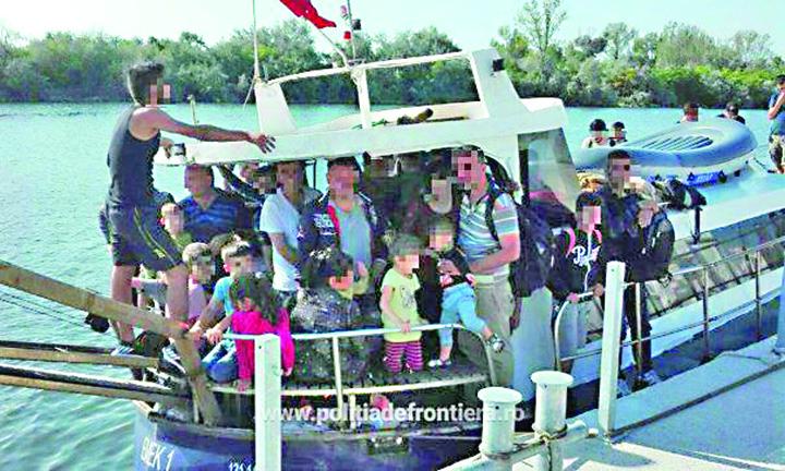 """mangalia Politia de Frontiera face """"partie"""" pentru migranti!"""