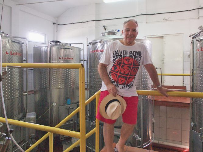 p8077271 667x500 Isarescu isi baga vinul la export