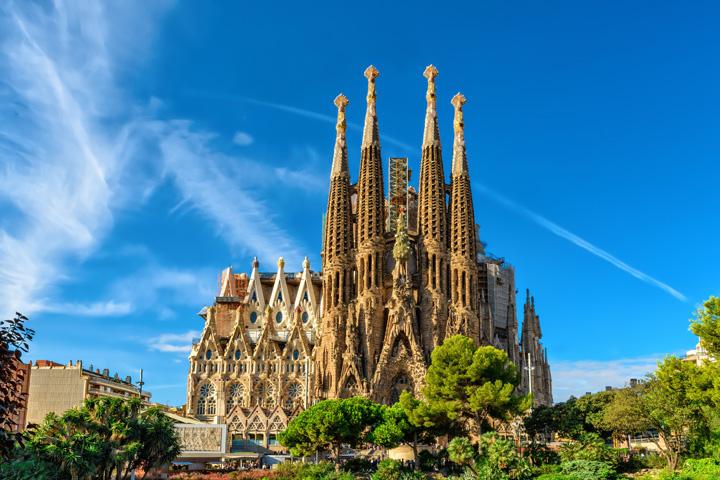 sagrada familia 01 Barcelona sub teroare. Tinta  principala: Sagrada Familia