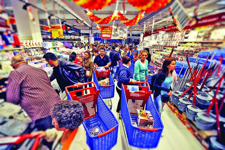 supermarket Aici am ajuns: Romania a importat mancare de 3,2 miliarde de euro!