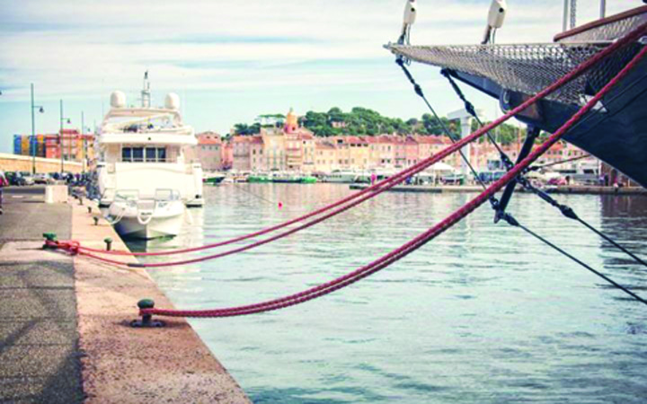 tropez Criza la Saint Tropez. Au disparut iahturile miliardarilor!