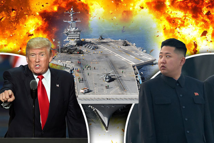 trump 2 Trump promite foc si furie Coreei de Nord