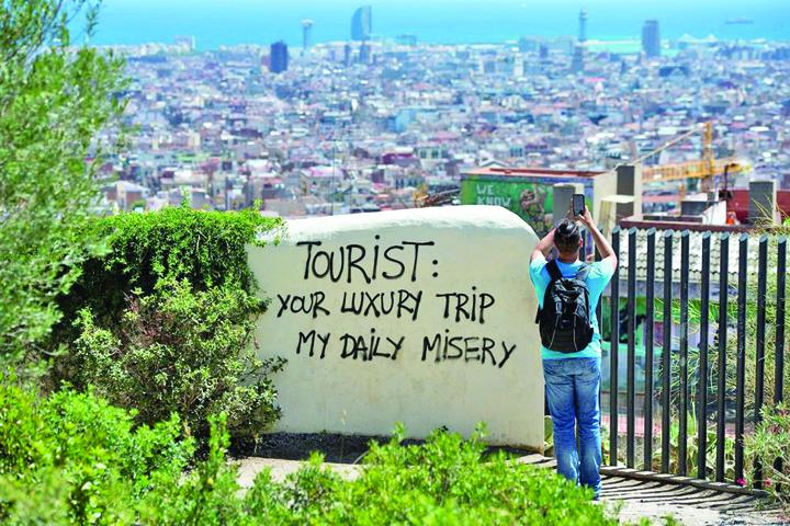 turisti Europa, in razboi cu turistii